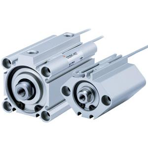 NC(D)Q2-Z, Compact Cylinder Double Acting, Single Rod, Stroke Options-SMC