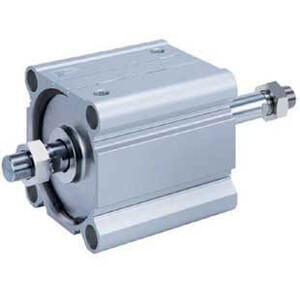 NC(D)Q2WB-Z, Compact Cylinder, Double Acting Double Rod, Large Bore (125-160)-SMC
